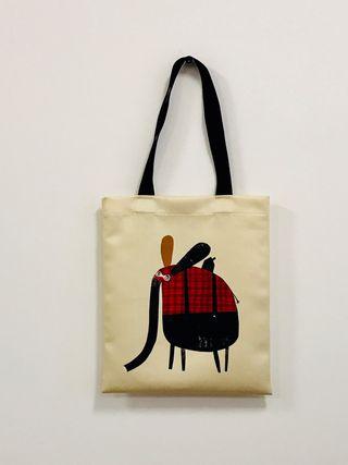"""Pirkinių maišelis """"Dramblys ir pelytė"""""""