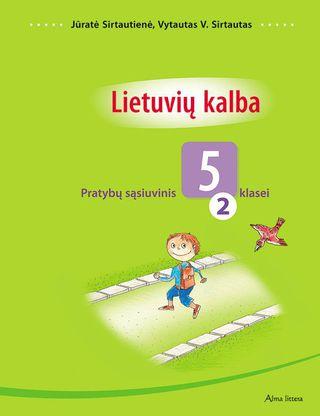 Lietuvių kalba. 2-asis pratybų sąsiuvinis V klasei