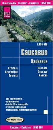 Reise Know-How Landkarte Kaukasus (1:650.000) : Armenien, Aserbaidschan, Georgien