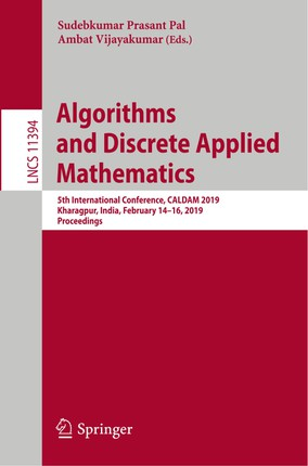 Algorithms and Discrete Applied Mathematics