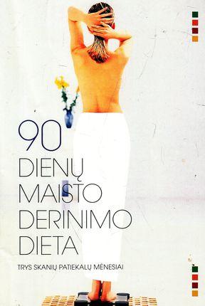 90 dienų maisto derinimo dieta