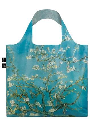 "LOQI dvipusis pirkinių krepšys ""VINCENT VAN GOGH Almond Blossom Duo Bag"""
