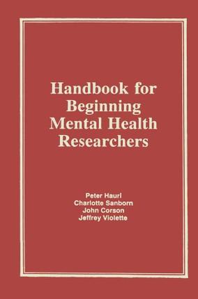 Handbook for Beginning Mental Health Researchers