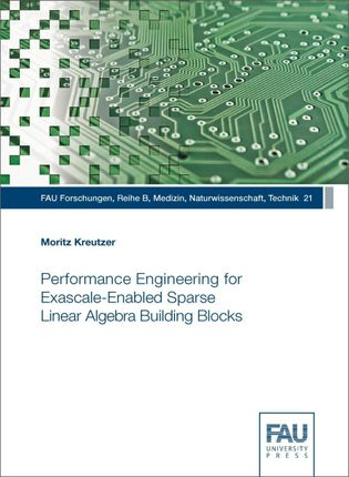 Performance Engineering for Exascale-Enabled Sparse Linear Algebra Building Blocks