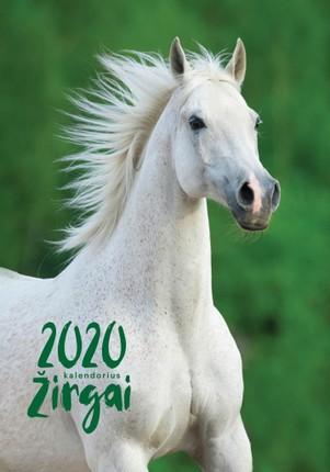 2020 m. sieninis kalendorius Žirgai