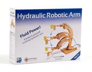 """Konstruktorius """"Hidraulinė robotinė ranka"""""""