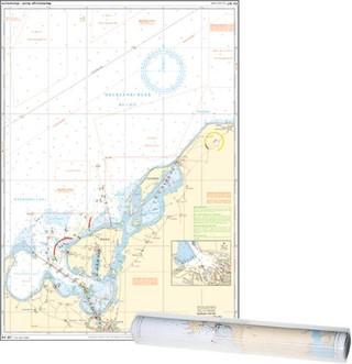 Einzelkarte Mecklenburger Bucht - Wismarbucht / Ansteuerung Wismar /Ansteuerung Salzhaff (Ausgabe 2021)
