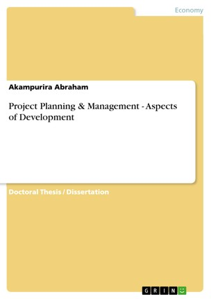 Project Planning & Management - Aspects of Development
