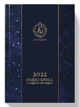 2022 darbo knyga su astrologinėmis rekomendacijomis