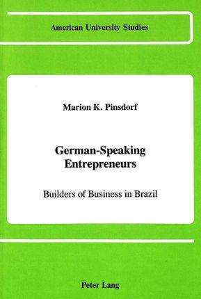 German-Speaking Entrepreneurs