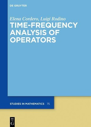 Time-Frequency Analysis of Operators