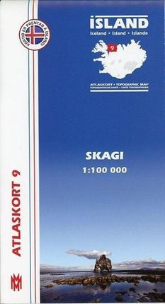 Island Atlaskort 09 Skagi 1:100.000