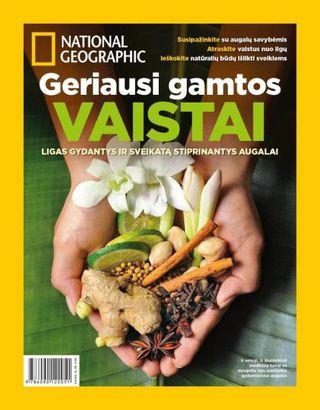 """Geriausi gamtos vaistai. Specialus """"National Geographic Lietuva"""" leidinys"""
