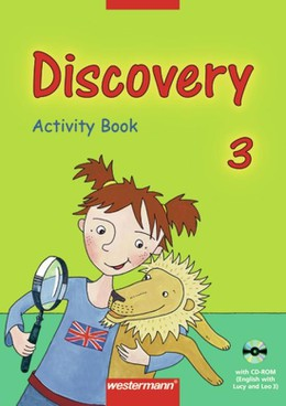 Discovery 3. Activity Book. Mit CD-ROM (English with Lucy and Leo 3). Bayern