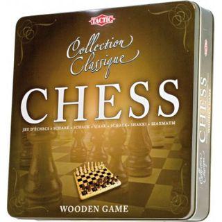 Žaidimas Šachmatai metalinėje dėžutėje