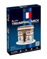 3D dėlionė: Arc De Triomphe