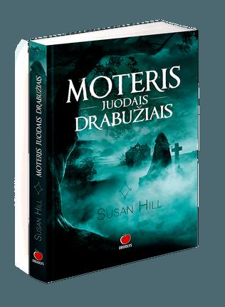 MOTERIS JUODAIS DRABUŽIAIS: šiurpinantis pasakojimas apie grėsmingą šmėklą, besivaidenančią mažame Anglijos miestelyje. Klasikinė vaiduoklių istorija, įrodanti, kad šis žanras vis dar gyvas