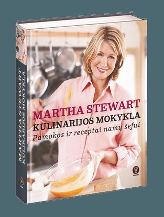 MARTHA STEWART - pasaulinis bestseleris pagaliau lietuviškai! KULINARIJOS MOKYKLA - pamokos ir receptai namų šefui + 500 nuotraukų ir geriausi receptai, norintiems gaminti kaip profesionalai + didelis formatas, 500+ psl., kieti viršeliai