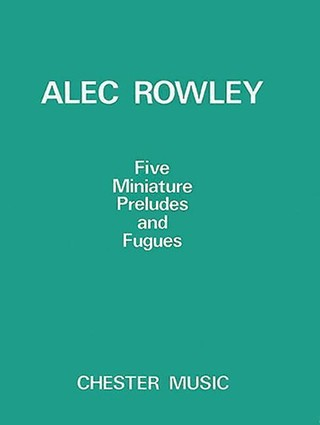 5 Miniature Preludes and Fugues: Piano Solo