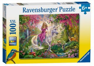 RAVENSBURGER dėlionė Magic Ride  100vnt, 10641