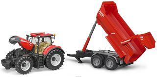 BRUDER traktorius su priekaba Optum 300 CVX, 03199