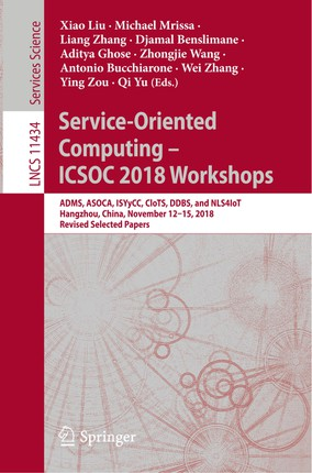 Service-Oriented Computing - ICSOC 2018 Workshops