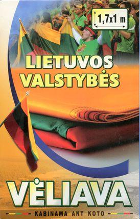 Lietuvos valstybės vėliava kabinama ant koto