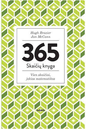 365 skaičių knyga: vien skaičiai, jokios matematikos