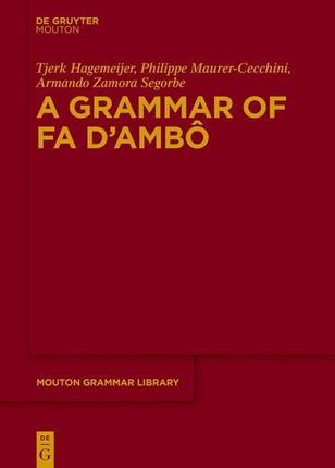 A Grammar of Fa d'Ambô