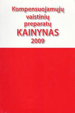 Kompensuojamųjų vaistinių preparatų kainynas 2009