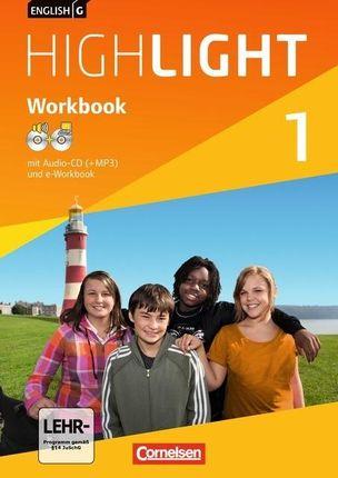 English G Highlight  01: 5. Schuljahr. Workbook mit CD-ROM (e-Workbook) und Audio-CD. Hauptschule