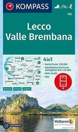 Lecco, Valle Brembana 1:50 000