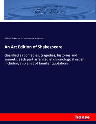 An Art Edition of Shakespeare