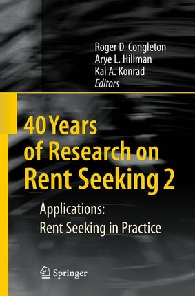 40 Years of Research on Rent Seeking 2