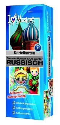 Karteikartenbox 1000 Wörter Russisch Niveau A1