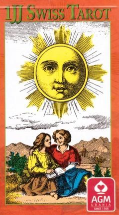 1JJ Swiss Tarot Cards GB