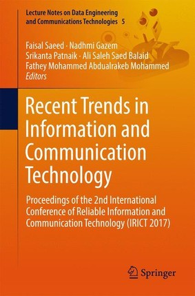 Recent Trends in Information and Communication Technology