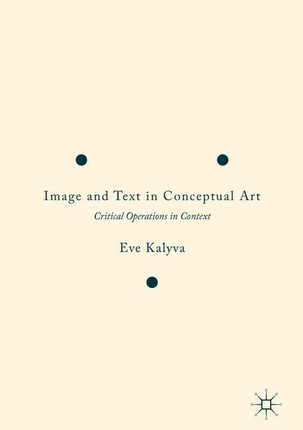 Image and Text in Conceptual Art