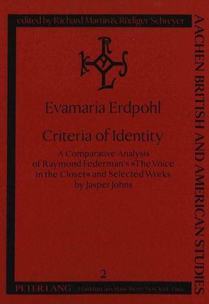 Criteria of Identity
