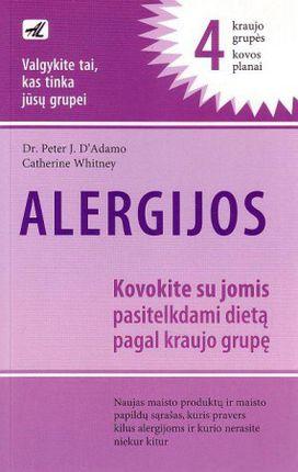 Alergijos. 4 kraujo grupės kovos planai
