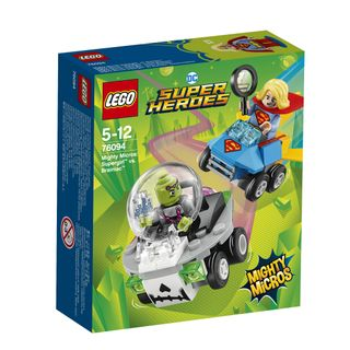 76094 LEGO® Super Heroes Galingi mažieji: Supergirl™ prieš Brainiac™
