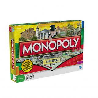Žaidimas Monopoly. Lietuva