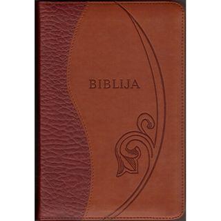 Biblija. Kanoninis leidimas. Su užtrauktuku