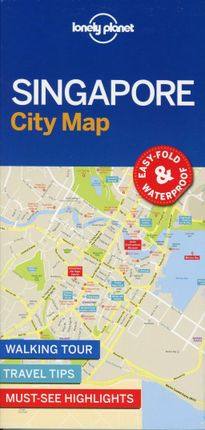 Lonely Planet SingaporeCity Map