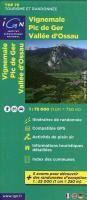 IGN 75 000 Touristische Wanderkarte 18 Vignemale, Pic de Ger, Vallée d'Ossau