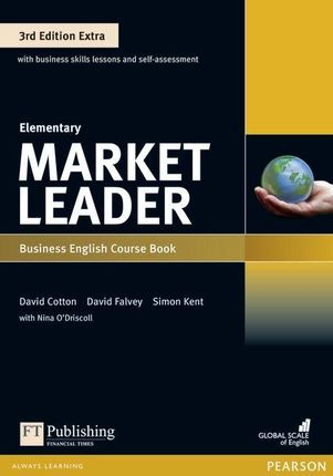 Market Leader Extra Elementary Coursebook with DVD-ROM Pack