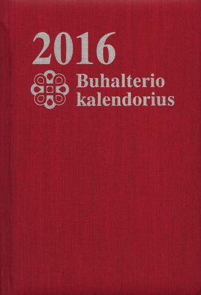 2016 metų buhalterio kalendorius