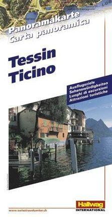 Tessin Panoramakarte