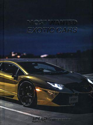 Most wanted exotic cars (knyga su defektu)