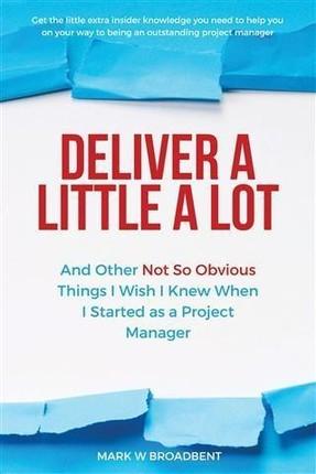Deliver a Little a Lot